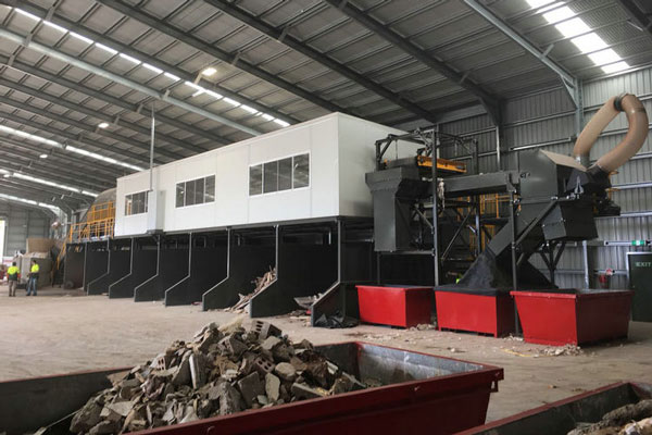 Construction and Decoration Waste Trommel Screen